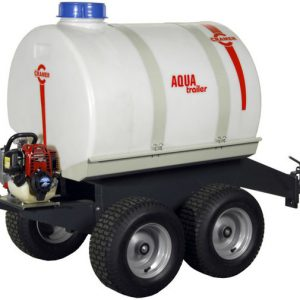 Cramer watertank op trailer 300 L met Honda motor