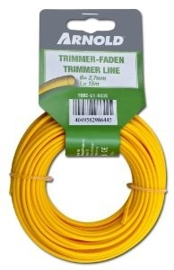 Trimmerdraad rond 2,7 mm 15m